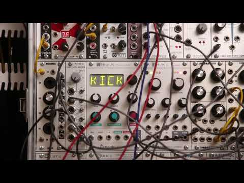 Mutable Instruments Braids - RATE & SIGN menu functions