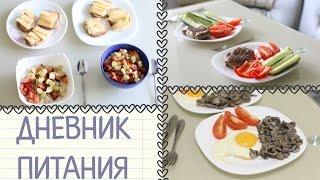 Дневник Питания | Что мы кушали сегодня?