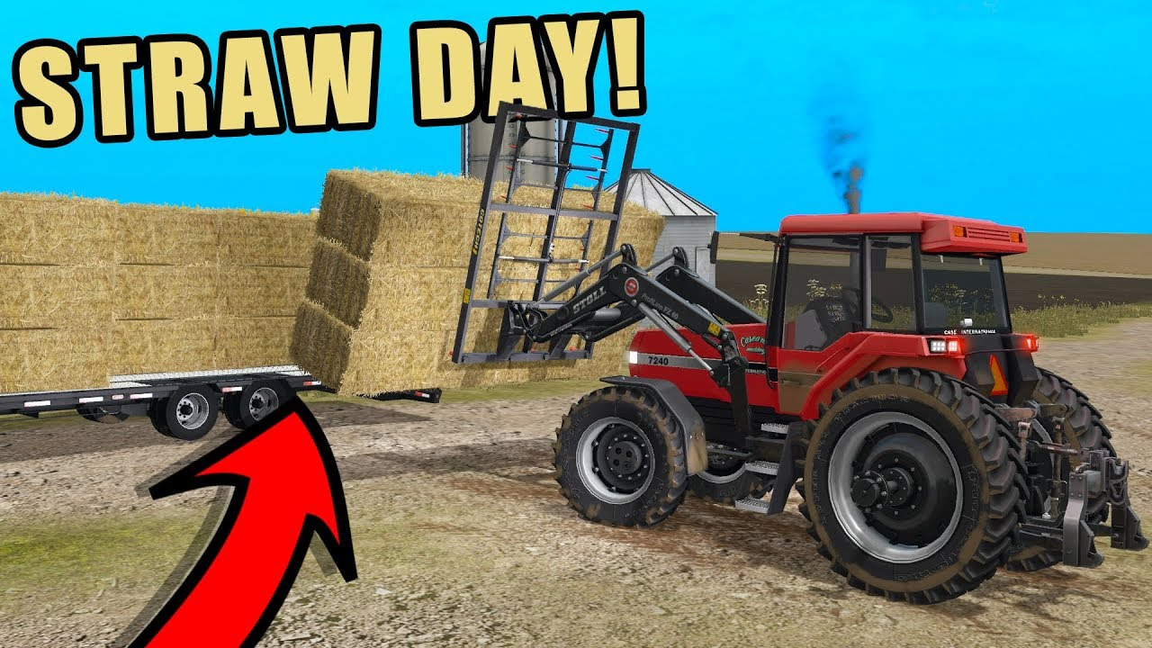 putting-the-case-magnum-to-work-baling-loading-straw-ep-12-farming-simulator-2017
