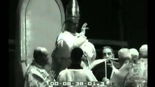 La cerimonia di incoronazione di Paulo VI 1963