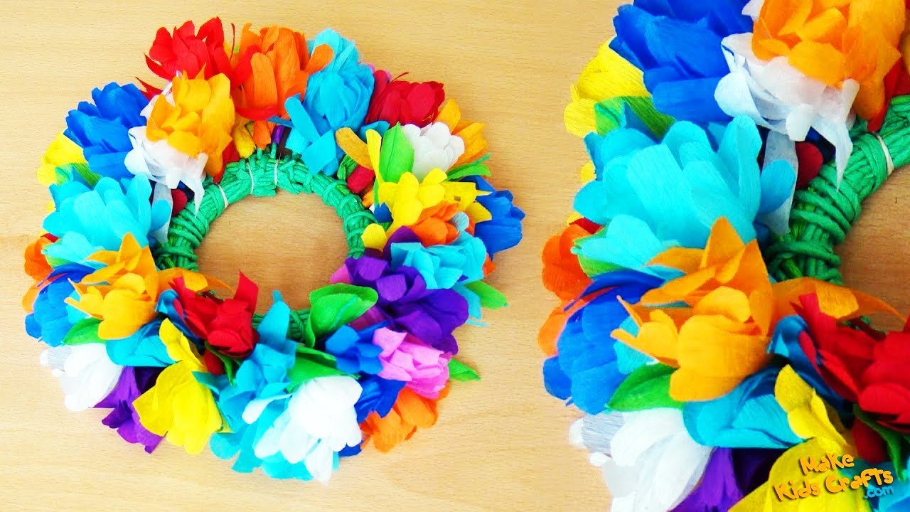 Mexican Paper Flower Crown Forteforic