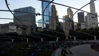 Indian Classical Music at Pritzker Pavilion, Chicago