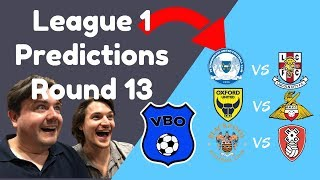 League One Predictions | Round 13 | Blackpool vs Rotherham United