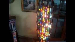 """Stained Glass Lamps: """"luminic Sculpture""""..........by Osalgulama"""