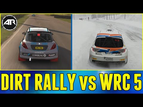 dirt rally vs wrc 5 xbox one car list gameplay graphics comparison youtube. Black Bedroom Furniture Sets. Home Design Ideas