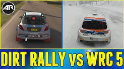DiRT Rally vs WRC 5!!! [Xbox One] - (Car List, Gameplay, Graphics Comparison)