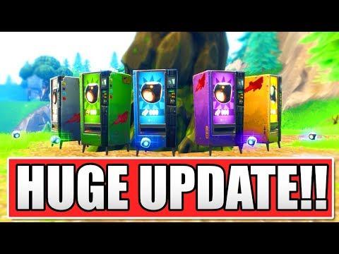 FORTNITE *NEW* HUGE PLAYGROUND V3 MODE UPDATE! (NEW PORT-A-BUILDS!) thumbnail