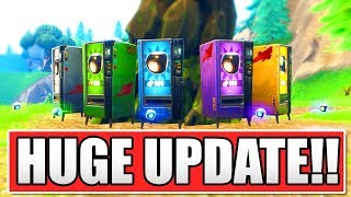 FORTNITE *NEW* HUGE PLAYGROUND V3 MODE UPDATE! (NEW PORT-A-BUILDS!)