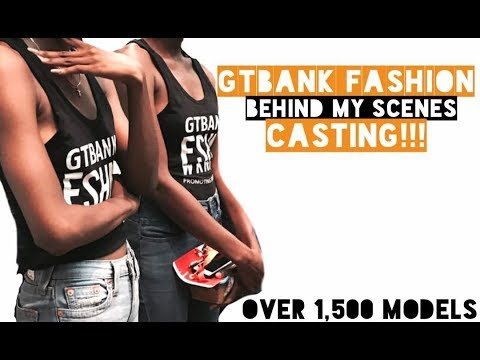 GTBank Fashion weekend casting 2017// I GOT SELECTED// Tomi Lagos VLOG!!