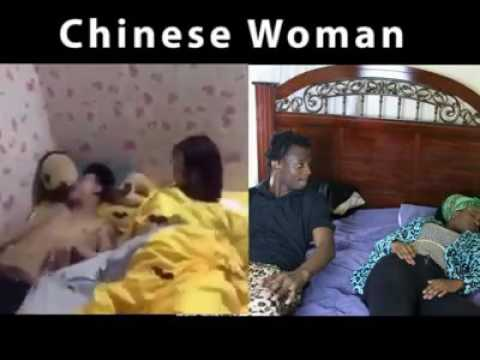 different between Chinese wife vs black wife (asian man white women)