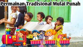 Serunya Bermain Permainan Tradisional Kereta Gembira Lagu Populer Anak