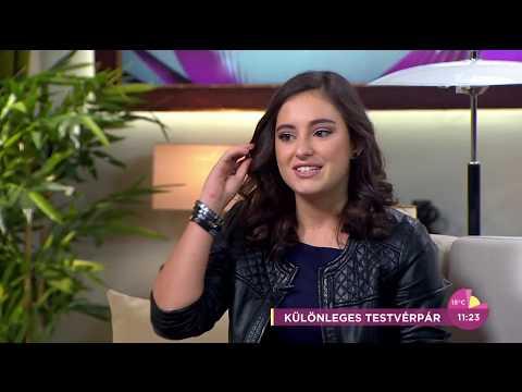 Varga Vivien az ikertestvérével készítette új dalát - tv2.hu/fem3cafe