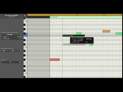 Anleitung Tonhöhe verändern | © Animation Neil Raouf Laptop komponieren