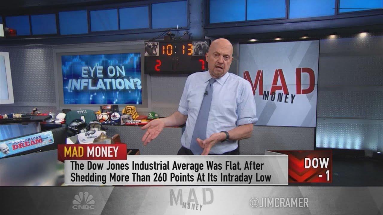 Download Jim Cramer on why he believes the U.S. may be seeing 'peak inflation'