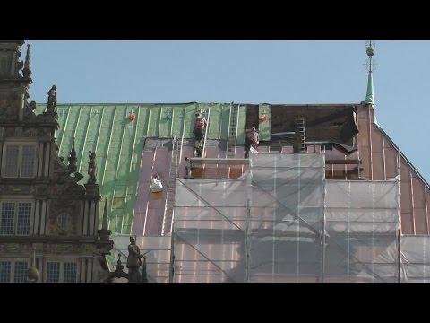 Bremer Rathaus bekommt neues Dach
