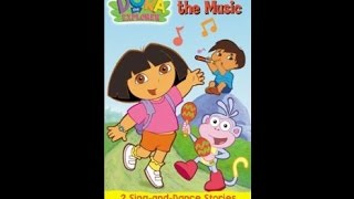 Opening to Dora the Explorer: Move to the Music 2002 VHS (2005…