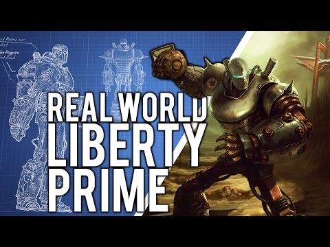 The TECH! - Building LIBERTY PRIME in the REAL-WORLD!