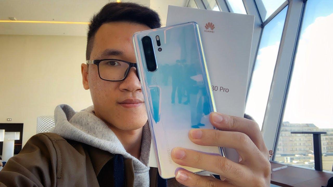 Mở hộp & đánh giá Huawei P30 Pro và P30 Lite