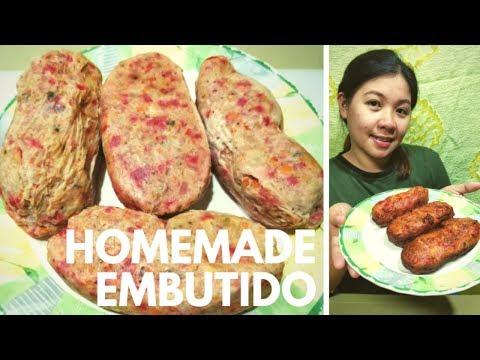 How To Make Homemade Embutido