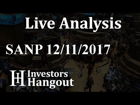 SANP Stock Live Analysis 12-11-2017