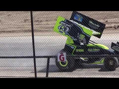 Canandaigua Speedway Brandyn Griffin Practice 3 4-21-18
