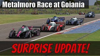 Automobilista Gets a Surprise Update! Metalmoro AJR Race at the New Goiania Layout