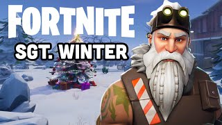Fortnite Season 7 NEW SGT. WINTER Skin Gameplay!