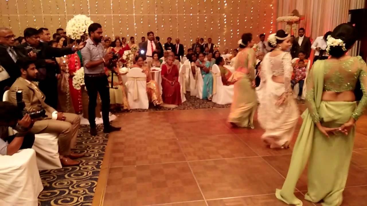 Poshitha, Namal - wedding dance - YouTube
