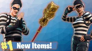 Nouveaux voleurs Skins - Gold Owl Pickaxe! Fortnite Live Stream!