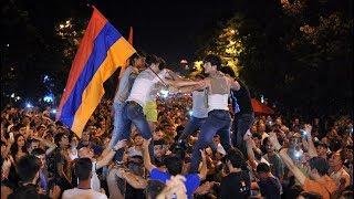 Революция в Армении:молодежь Армении восстала против пророссийской власти. Новости от 22.04.2018