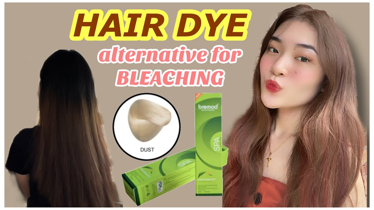 Hair Dye An Alternative For Bleaching For Only 125 Pesos No Bleaching Philippines Youtube
