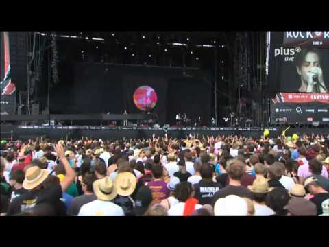 THE NAKED AND FAMOUS  Young Blood @ Rock Am Ring 2011 HD