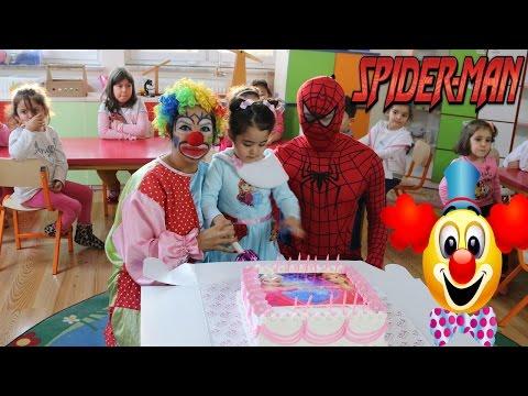 Palyaço Örümcek Adam Spiderman Kreş...