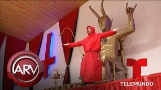 Genera polémica y terror un templo dedicado a Lucifer en Colombia | Al Rojo Vivo | Telemundo
