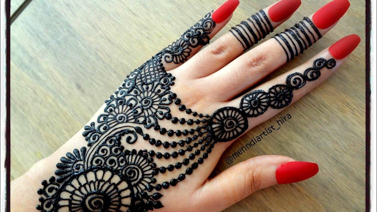 Pretty Henna Designs: DIY Beautiful Trendy Stylish Simple Henna Jewelery