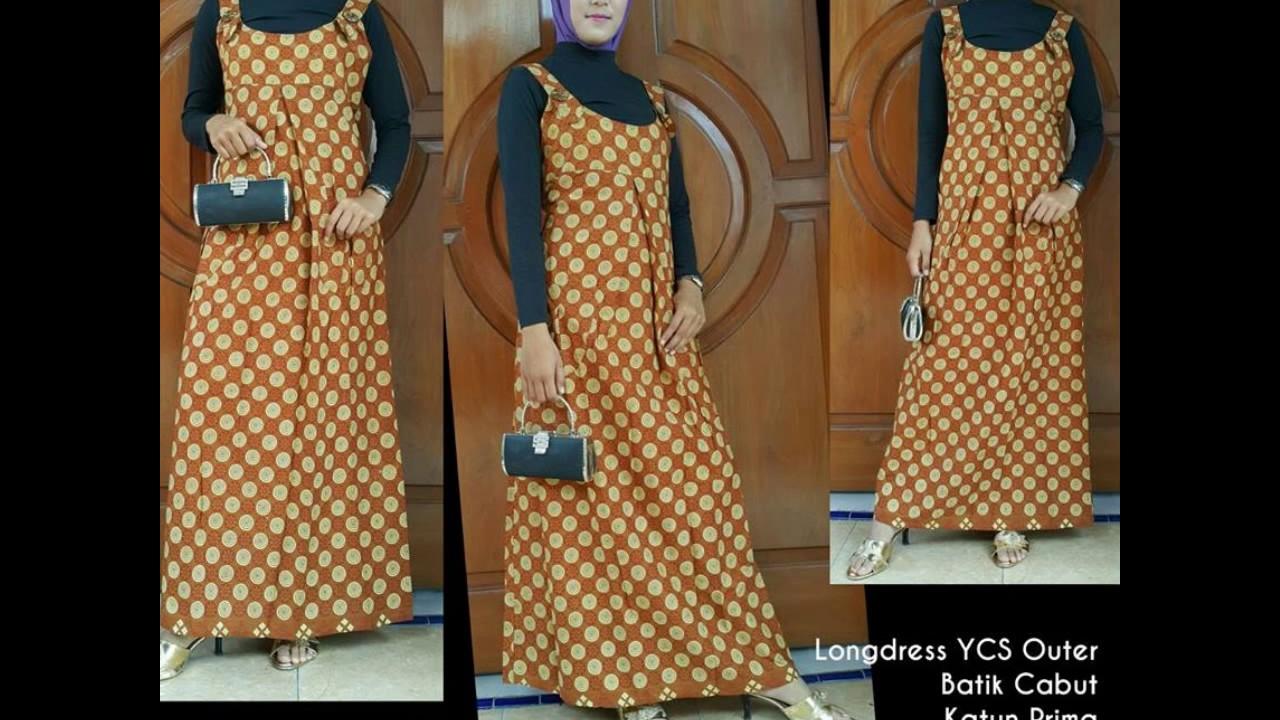 Wa 0812 2533 6662 Gamis Batik Warna Kuning Gamis Batik Wisuda