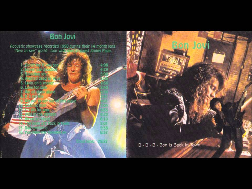 Bon jovi bon is back in town full album live 1990 youtube sciox Images