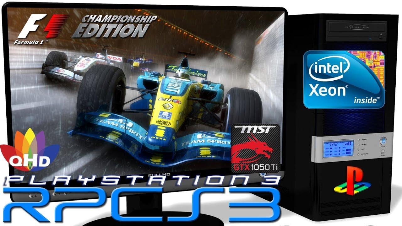 RPCS3 0 0 6 [PS3 Emulator] - Formula One Championship Edition [Gameplay]  Xeon E5-2650v2 #1