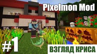 Грибное королевство?! - Pixelmon Mod (взгляд Криса) - #1