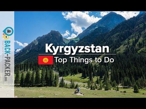 Trekking & Things to do in Kyrgyzstan (Tian Shan Mountains)