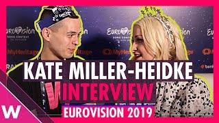 Kate Miller-Heidke (Australia) interview @ Eurovision 2019 first rehearsal
