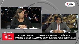 En Voz Alta: Entrevista al superintendente Martín Benavides