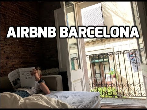 A Tour of Our Airbnb Rental Apartment in Barcelona