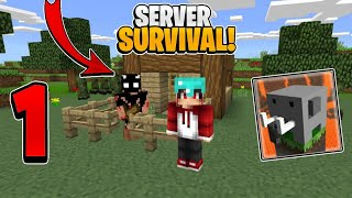 Craftsman MULTIJUGADOR Online SURVIVAL #1 // Supervivencia SERVER