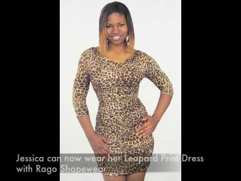 RAGO Shapewear Jessica and her Leopard Print Dress Story
