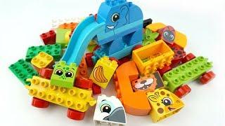 ألعاب تعليم الحيوانات للأطفال، فيديو لعبة Lego Duplo للأطفال