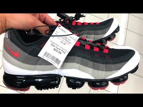 SEARCHING BURLINGTON FOR SNEAKERS! VAPORMAX 95 FOR $60!