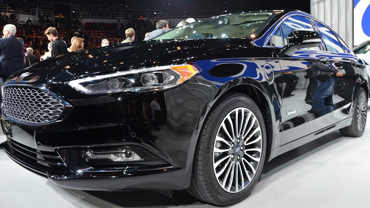 New Ford Fusion Energi Plug In Hybrid Is Sharper Sportier Packed With Tech You