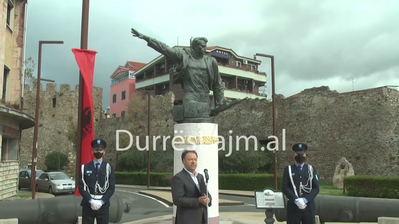 Download 7 prilli/ Përkujtohet në Durrës 82-vjetori i rezistencës ndaj pushtimit italian
