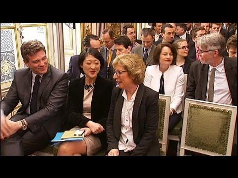 Quand des ministres ricanent du pseudo de Sarkozy - 21/03